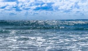 Bilde av sjøen ved Borestranden