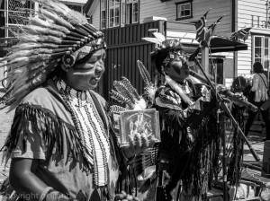 Indianere på Gladmat