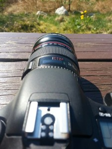 Canon 7d i Sola