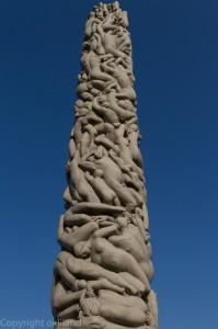 monolitten i frognerparken