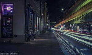 Lysmaling og HDR bilde utenfor Rebel på Grunerløkka i Oslo av Ørjan Liland