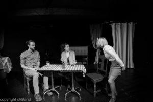 Bilde skrik Teater Neuf Family Crisis av Ørjan Liland