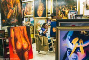 Bilde Thailand malerier maler Ørjan Liland